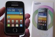 Samsung Galaxy Y hands-on