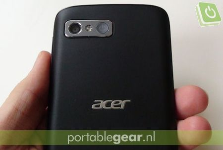 Acer Liquid Gallant: on-screen toetsenbord met Swype