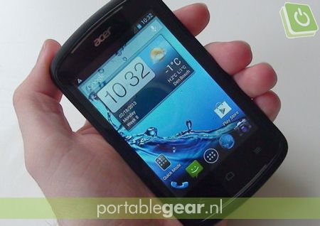 Acer Liquid Z2: Android 4.1 Jelly Bean, 3,5-inch touchscreen