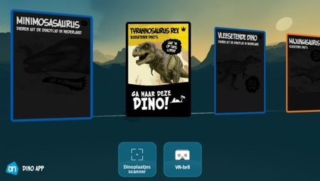 Screenshot AH Dino app