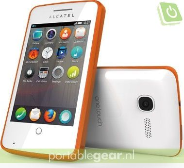 Alcatel One Touch Fire met Firefox OS