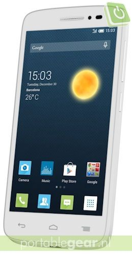Alcatel OneTouch POP 2 (wit)