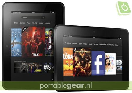 Amazon Kindle HD tablet