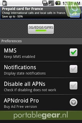APNdroid (Android-app)