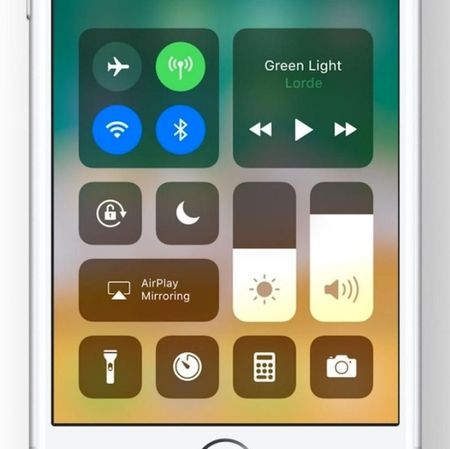 iOS - Control screen