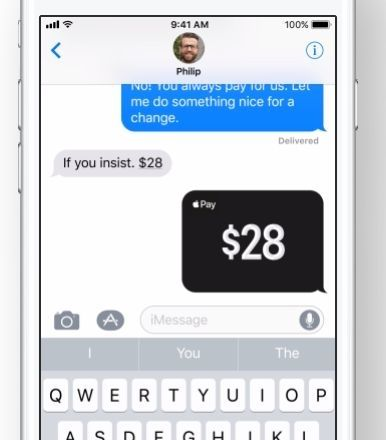 iOS 11 - Apple Pay