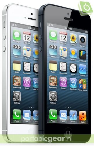 Apple iPhone 5: zwart of wit