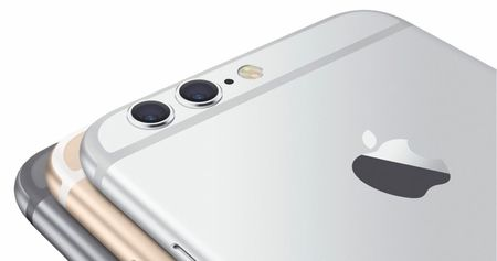 Apple iPhone 7 - Dual camera (gelekte render)