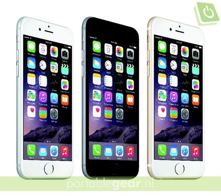 Apple iPhone 6 en 6 Plus