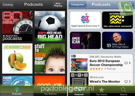 Apple Podcasts-app