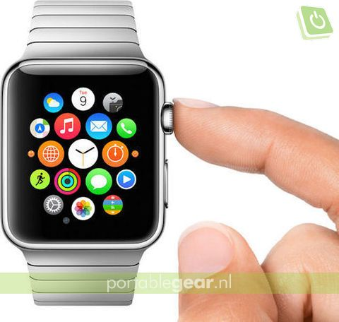 Apple Watch met Digital Crown-draaiwieltje