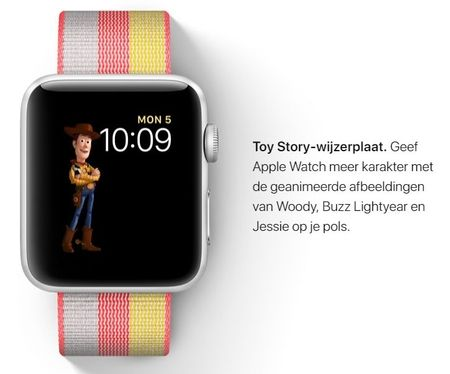 watchOS 4 - Wijzerplaten