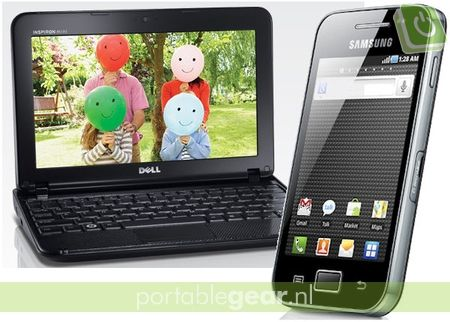 Dell Inspiron Mini 10 & Samsung Galaxy Ace