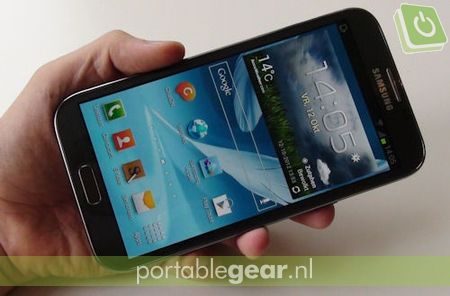 Samsung Galaxy Note 2: Android 4.1 Jelly Bean