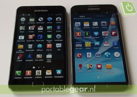 Samsung Galaxy Note 1 vs. Note 2