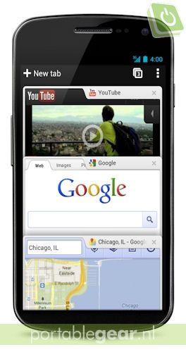 Chrome-browser voor Android 4.0