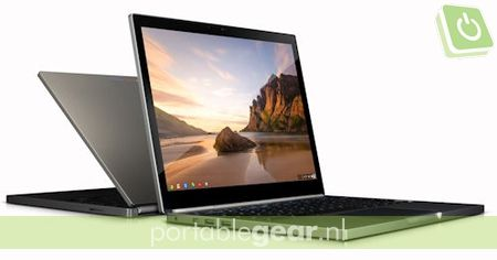 Chromebook Pixel met touchscreen