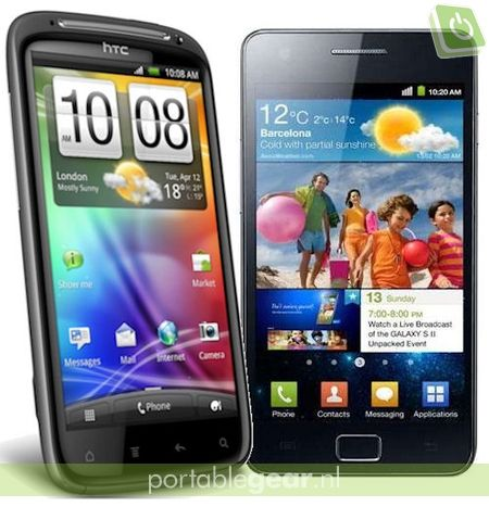 HTC Sensation vs. Samsung Galaxy S II (i9100)