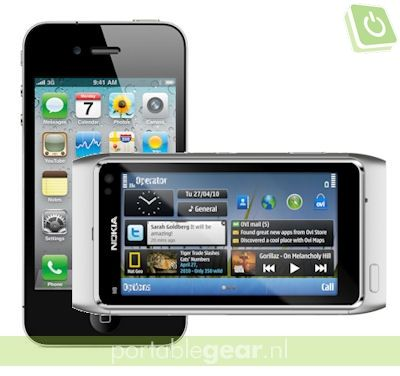 iPhone 4 versus Nokia N8