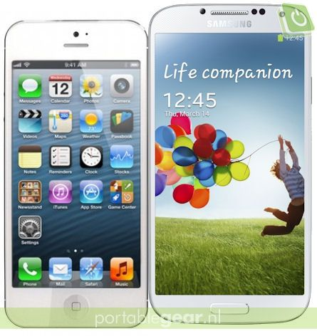 iPhone 5 vs. Samsung Galaxy S4