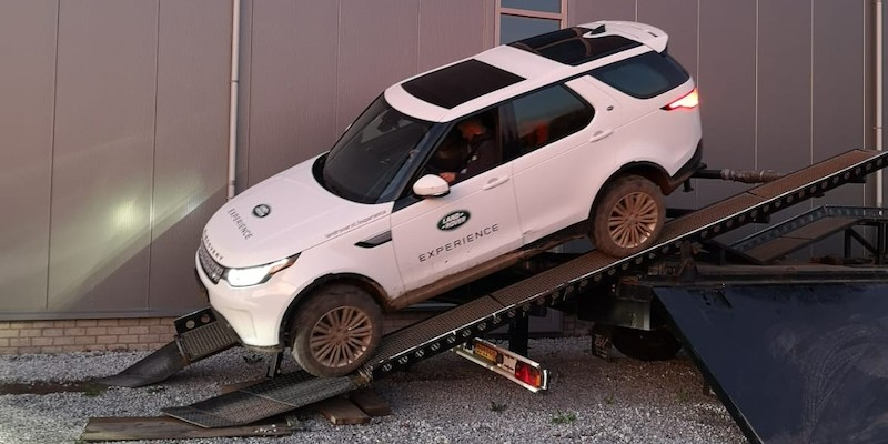 Land Rover Experience - Demonstratie van instructeurs