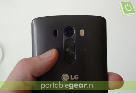 LG G3: Back Button-design met 13-megapixel OIS+ camera