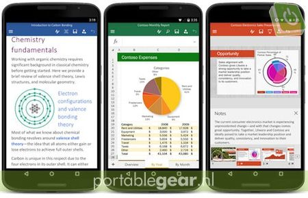 Microsoft Office op Android-smartphones