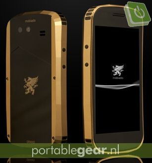 Mobiado Ground Touch: gouden Nexus S