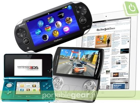 Nintendo 3DS vs. Sony NGP vs. Sony Ericsson Xperia Play vs. iPad 2