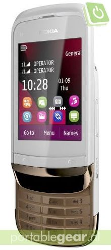 Nokia C2-03 Touch and Type