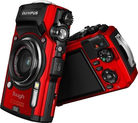 Olympus Tough TG-5 - Rood