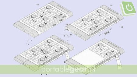 Samsung Galaxy Note 4: patent op flexibel display