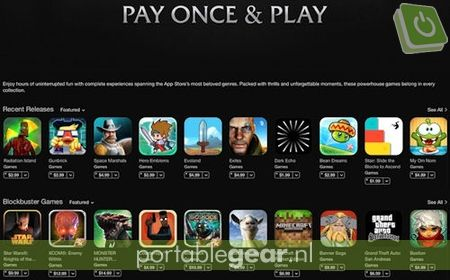 Play Once & Play games in Apple App Store