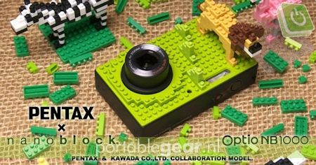 Pentax Optio NB1000 Lego-camera