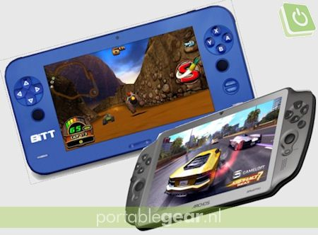 Qware BiTT Gametablet 7 Capacitive vs. Archos GamePad