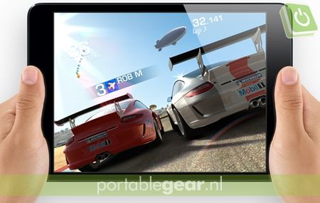 Real Racing 3 op iPad mini