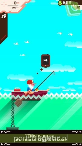 Ridiculous Fishing voor iPhone/iPad