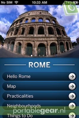 Lonely Planet: Rome (iOS-app)