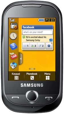 Samsung Corby (S3650)