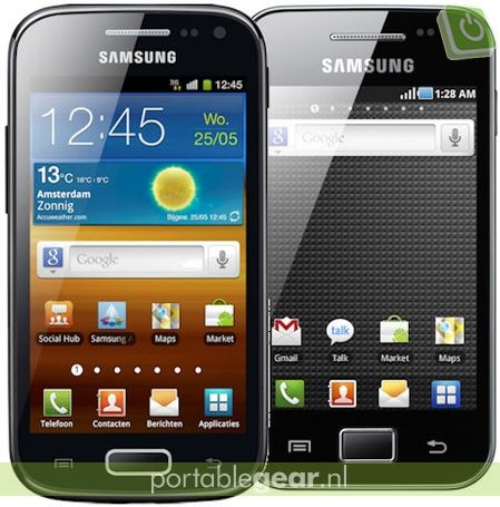 Samsung Galaxy Ace 2 vs. Galaxy Ace 1: verschil