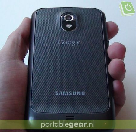Samsung Galaxy Nexus: fragiele backcover