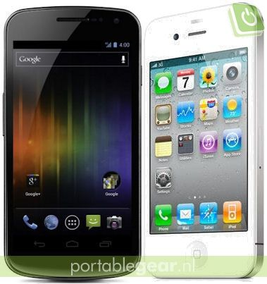 Samsung Galaxy Nexus Prime vs. iPhone 4S