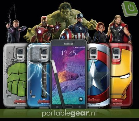 Samsung Galaxy Note 4 The Avengers-backcovers