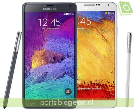 Samsung Galaxy Note 4 vs. Galaxy Note 3: verschil