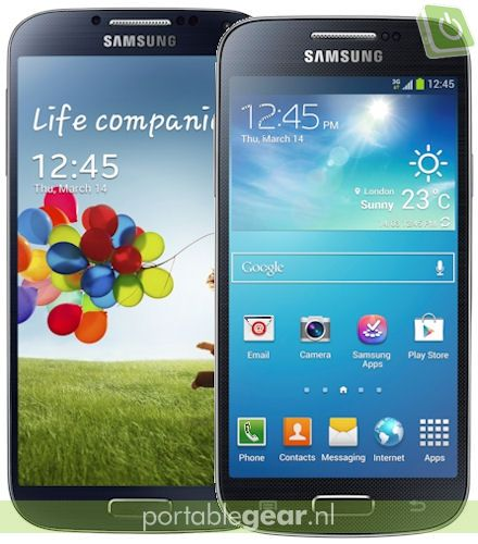 Samsung Galaxy S4 mini vs. Galaxy S4: verschil
