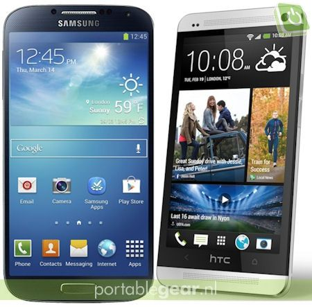 Samsung Galaxy S4 vs. HTC One UltraPixel: verschil