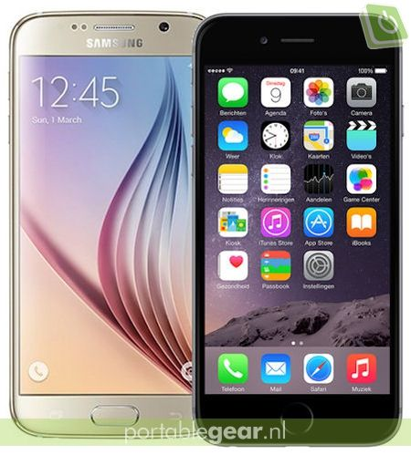Samsung Galaxy S6 vs. iPhone 6: verschil