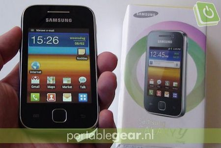 Samsung Galaxy Y (S5360): 3-inch touchscreen & Android 2.3