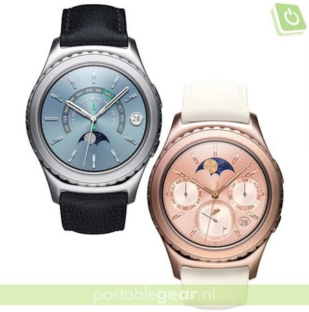 Samsung Gear S2 Rose Gold en Platinum