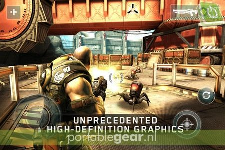 Shadowgun voor iPad & iPhone